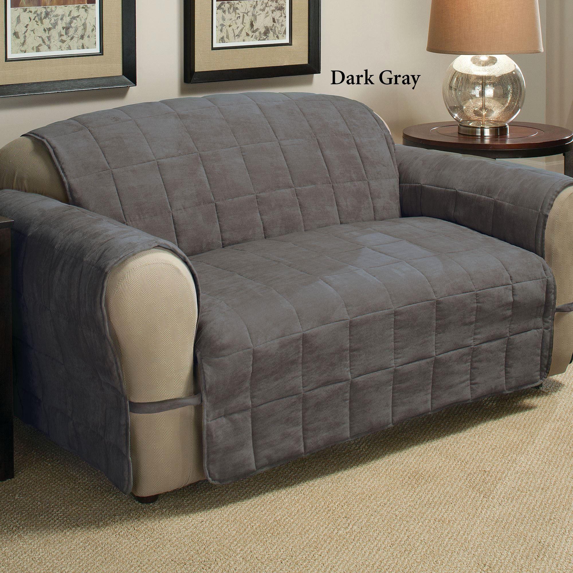 Gray Velvet Slipcover Sofa Bed Canada Sears Slipcovers Great Bay Home Plush Form