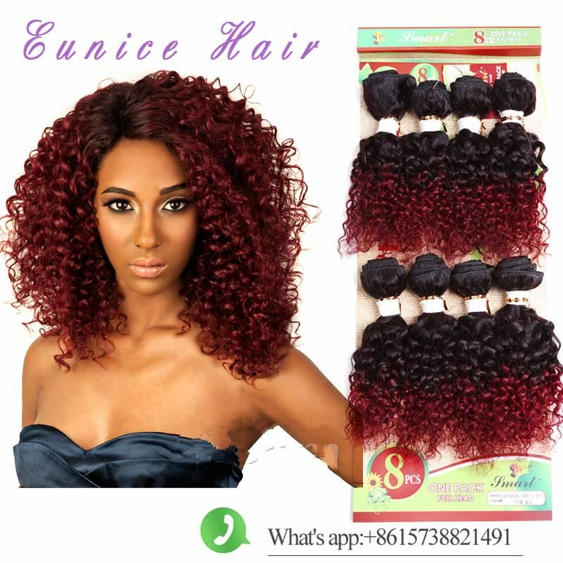 Ombre brown human hair extensions bug 8inch 8bundles 2017 style ombre brown human hair extensions bug 8inch 8bundles 2017 style loose wave deep curly brazilian human pmusecretfo Gallery