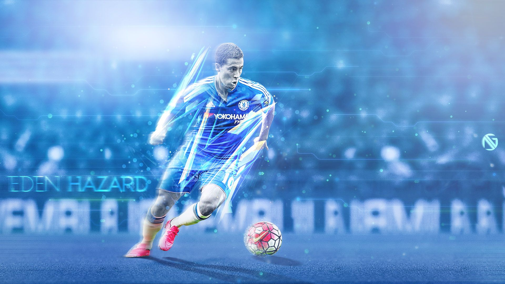 Eden Hazard Chelsea Wallpaper