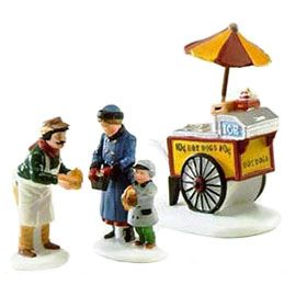 "Department 56: Products - ""Hot Dog Vendor"" - View Accessories"