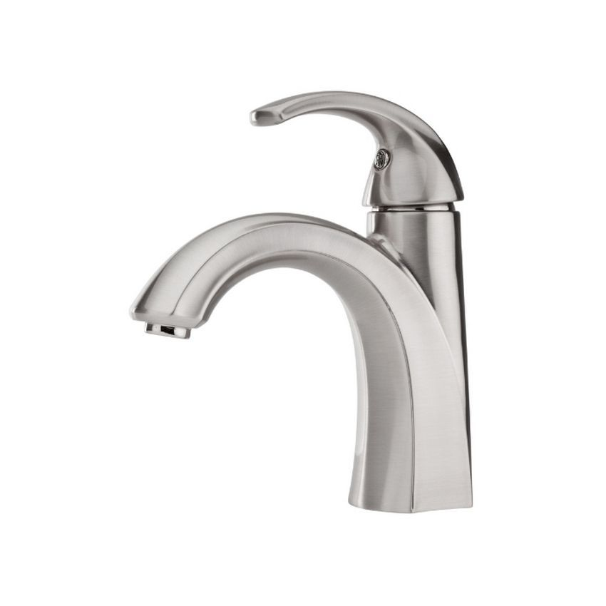 the simple design of the pfister selia brushed nickel bathroom faucet ensures an easy match with - Pfister Bathroom Faucet