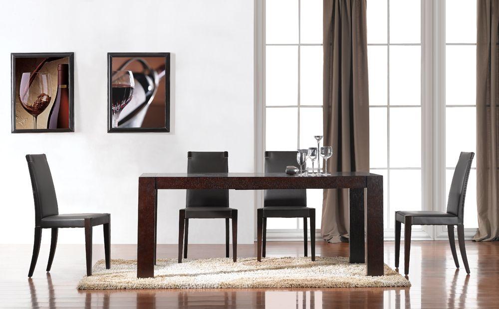 Colibri Modern Dining Table by J Furniture Colibri Furniture