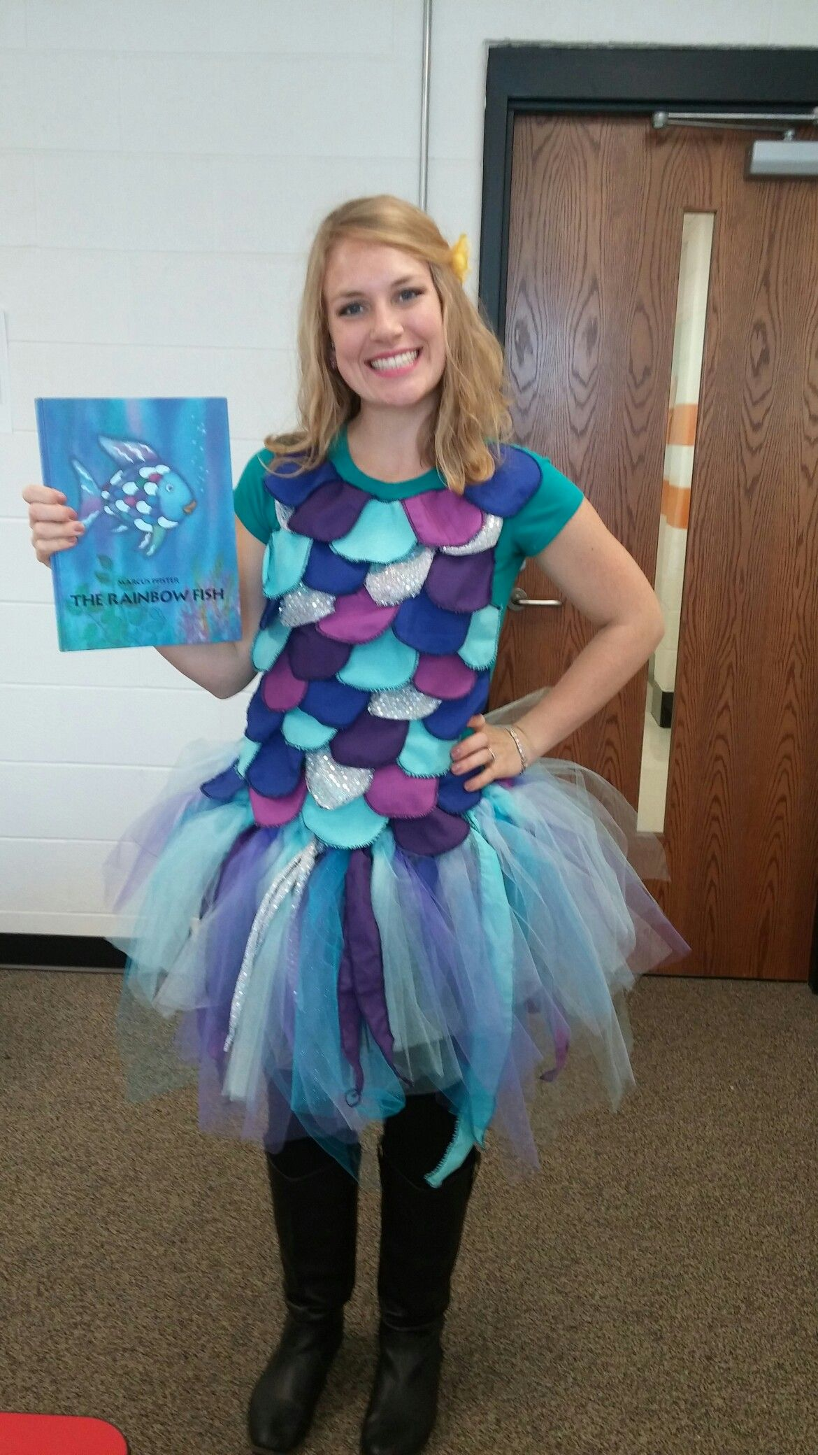 Rainbow fish costume  sc 1 st  Pinterest : fish costumes  - Germanpascual.Com