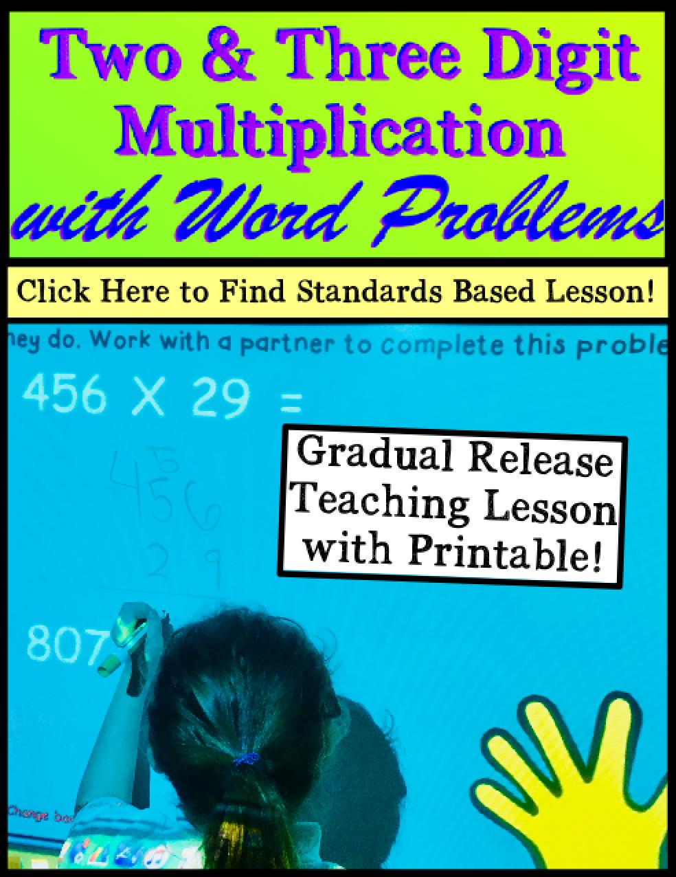 Multiplication Lesson Plans for PROMETHEAN Board | Pinterest ...