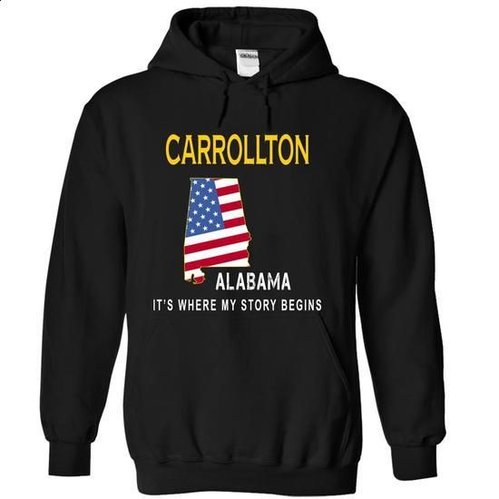 CARROLLTON - Its Where My Story Begins - #trendy tee #tshirt outfit. I WANT THIS => https://www.sunfrog.com/States/CARROLLTON--Its-Where-My-Story-Begins-xdevb-Black-13504247-Hoodie.html?68278