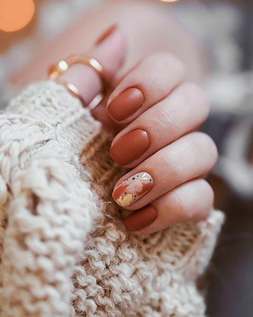 Most Beautiful Fall Nail Designs 2019 Stylish Belles Cute Nails For Fall Thanksgiving Nails Thanksgiving Nail Art