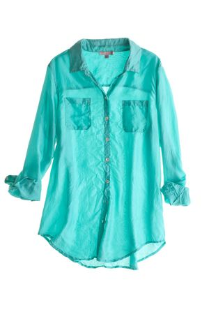 spring silk blouse