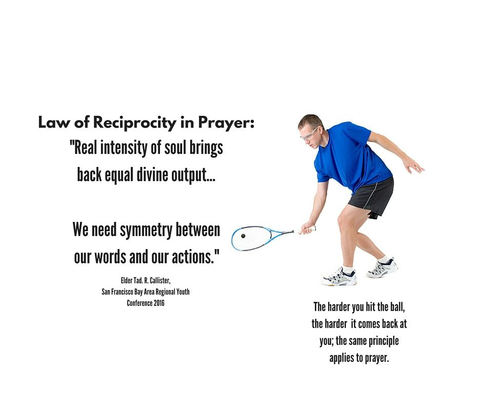 Elder Callister--Law of Reciprocity of Prayer LDS Memes and quotes - best of blueprint of the church callister