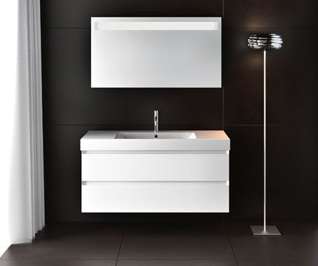 Awesome Catalano Floating Vanity   White, With Domino Basin. Roger Seller.