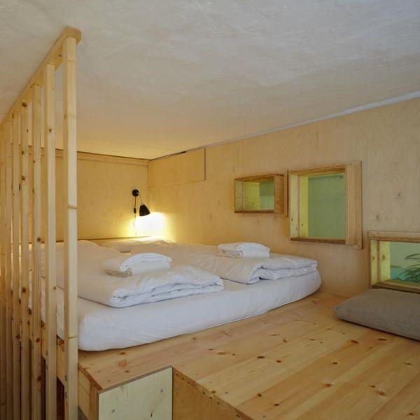 Hochetage Podest Bett Möbel Sideboard Regal Schrank in