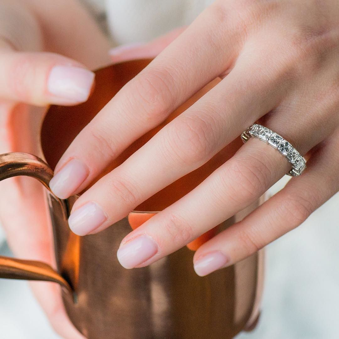 When your eternity band sparkles just as bright as your engagement ...