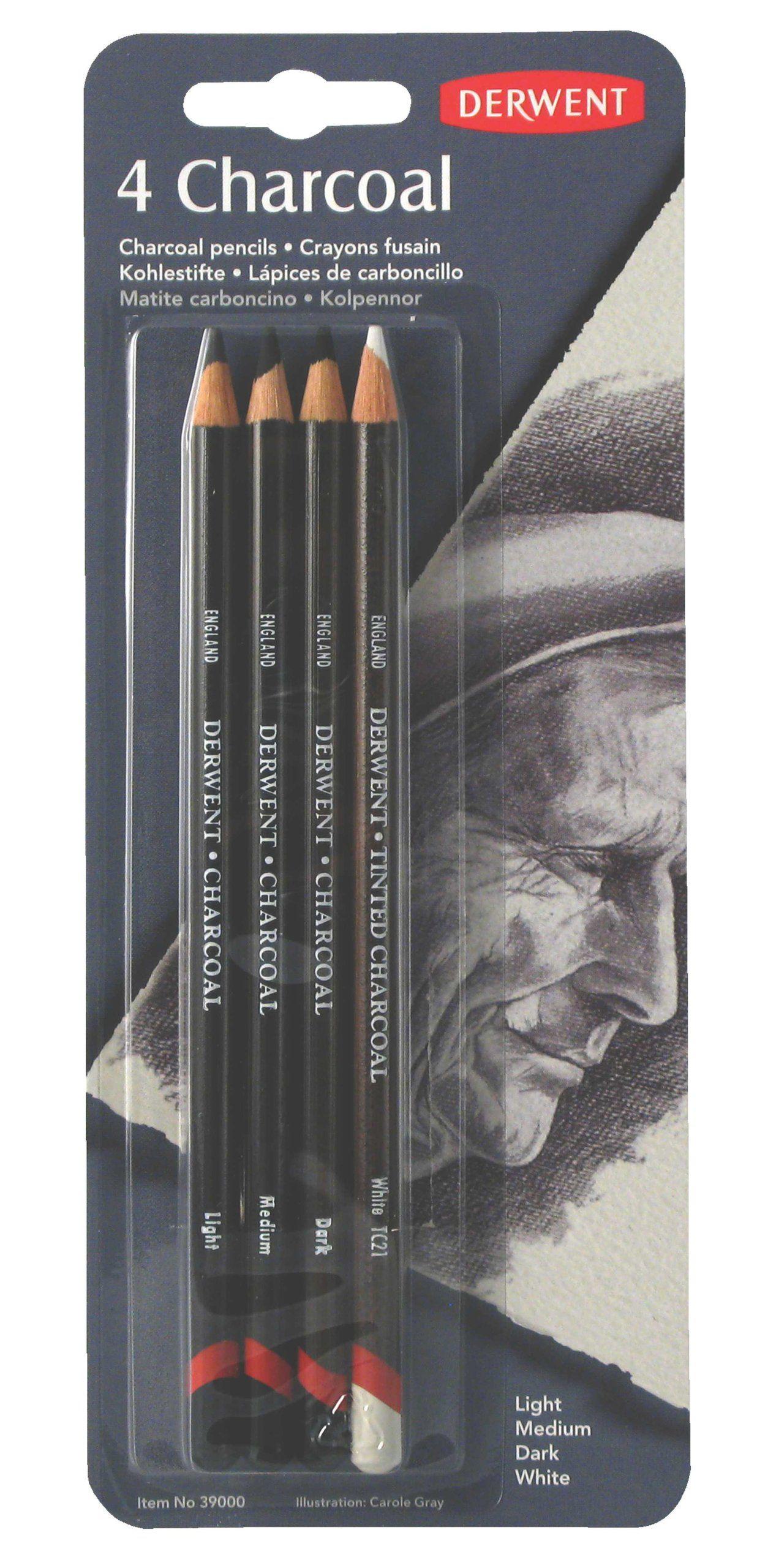 Charcoal Pencils Soft Dark Medium Hard Light Any Brand