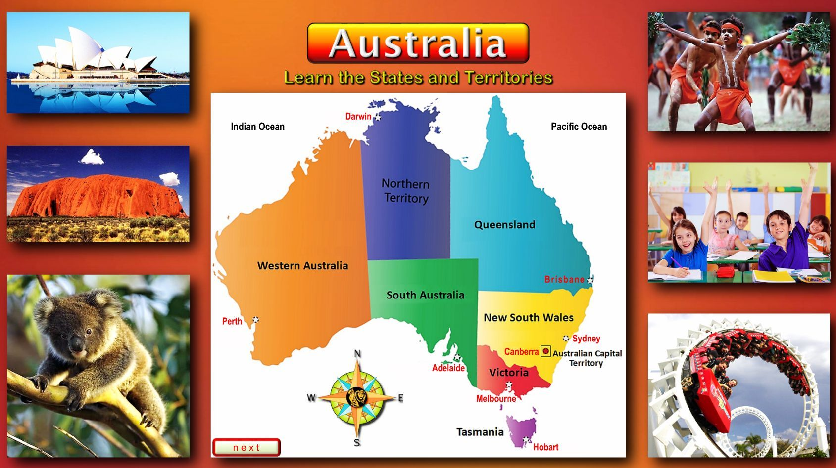 Australia Map Quiz Online.This Quiz Worksheet Is Recommended For Use With The Australian