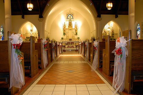 Church Wedding Decorating Ideas