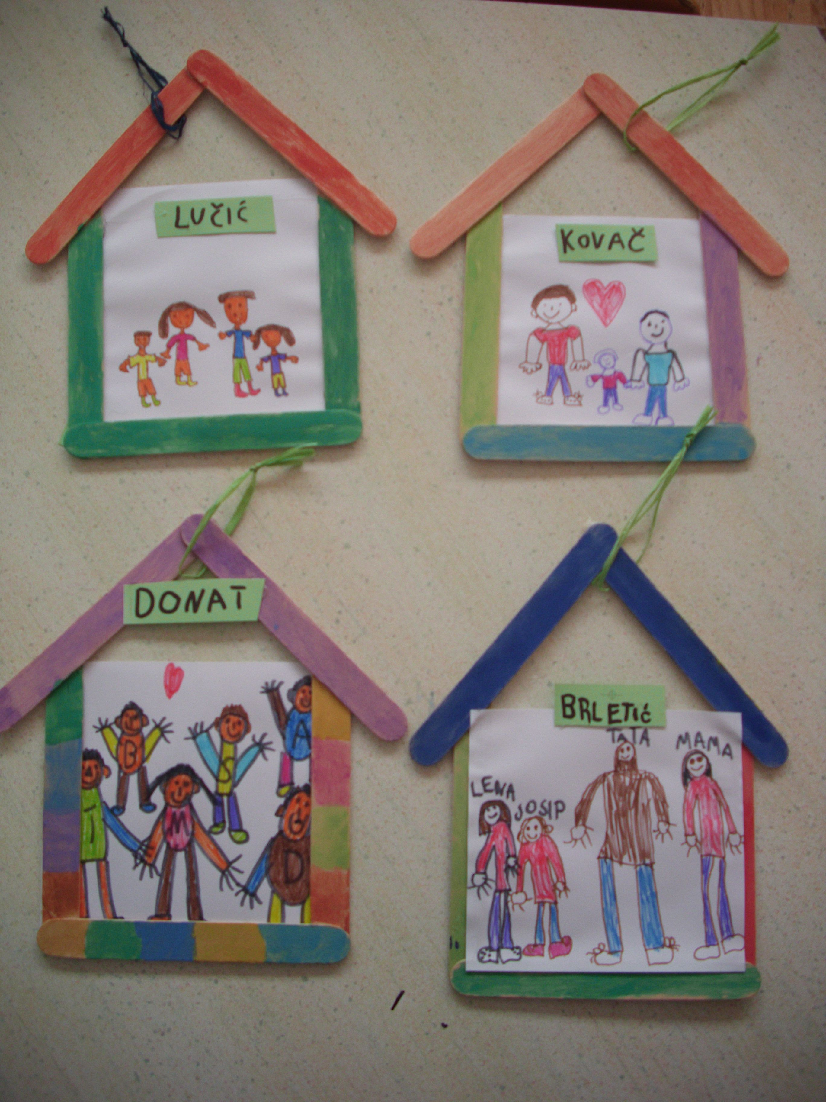 House art projects for preschoolers