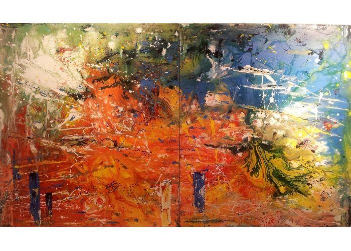 """Maurizio Carpanelli :: Web Art Gallery  """"Andando verso Giove""""    i pianeti e i loro misteri affascinano da sempre l'uomo"""