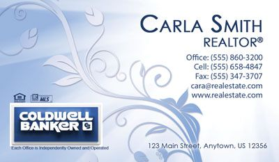 Coldwell banker business card template coldwell banker business coldwell banker business card template cheaphphosting Image collections