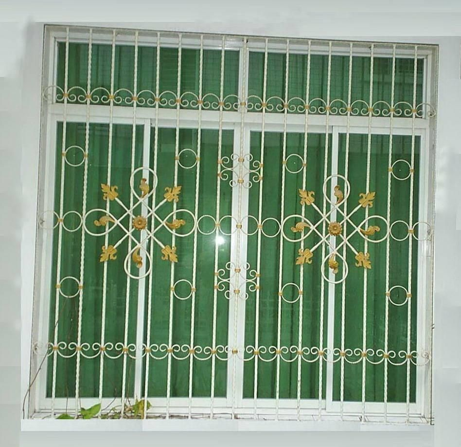 Window grill open a new window pinterest window for Window design metal