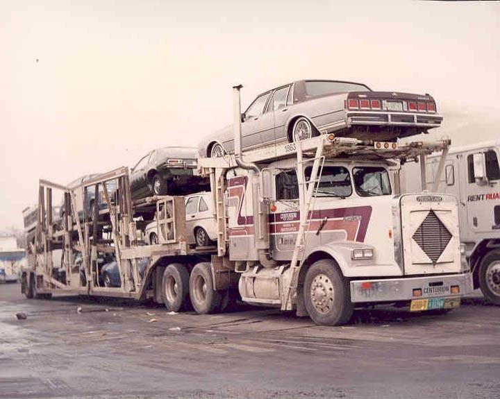 1980 Chevrolet Tractor Trailer Truck Photo Freightliner Car Hauler