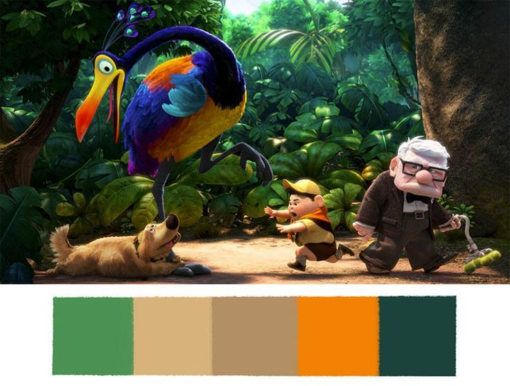 These Disney•Pixar Palettes are the Most Aesthetically Pleasing Things You'll See All Day: