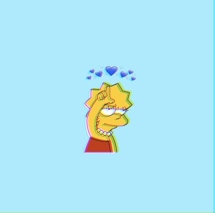 Lisa Simpson wallpaper 💙 Simpson wallpaper iphone