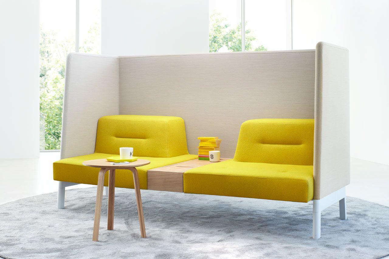 Flexible Office Furniture Meeting Relaxation Privacy Design Milk Sofa Design Furniture Design Modular Furniture