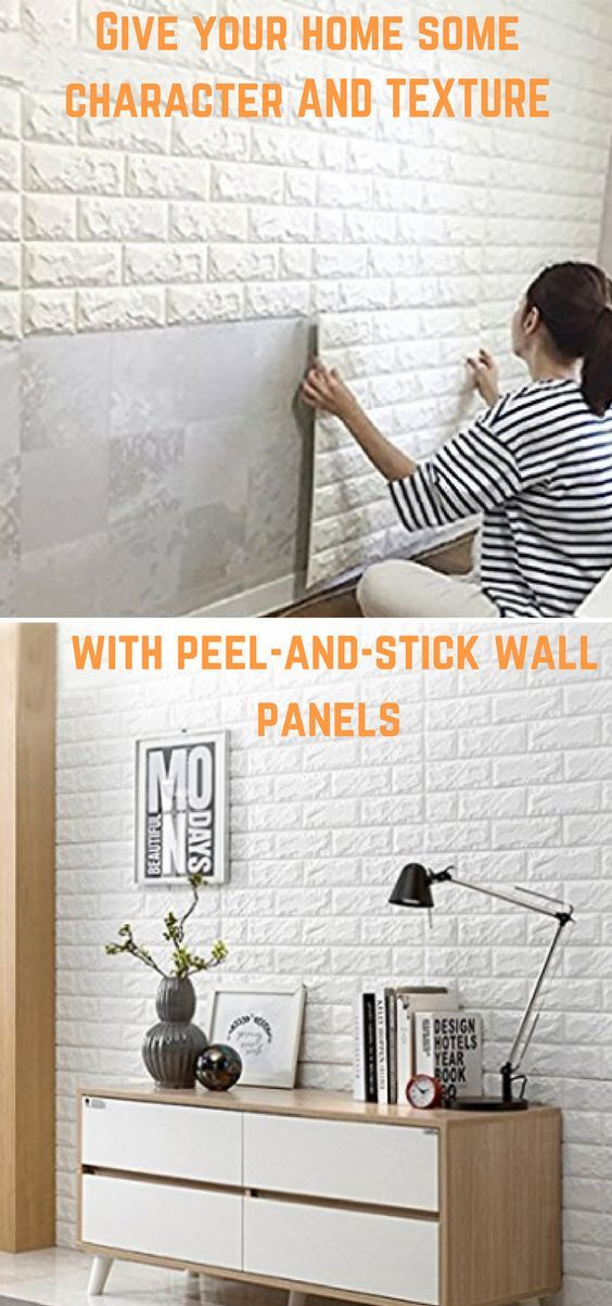 L And Stick Wallpaper Diy Easy Cut Trim No Grout Glue Special Tools Mess Lightweight Thin Easily Installed Directly Over