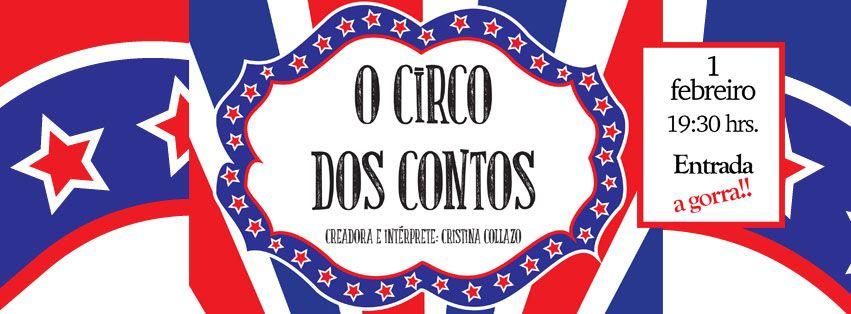O Circo dos Contos en Cafe Jam Session, Ourense musica xogos contos escea escena