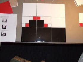 Ziep25: Spelen met de tegels voor de badkamer