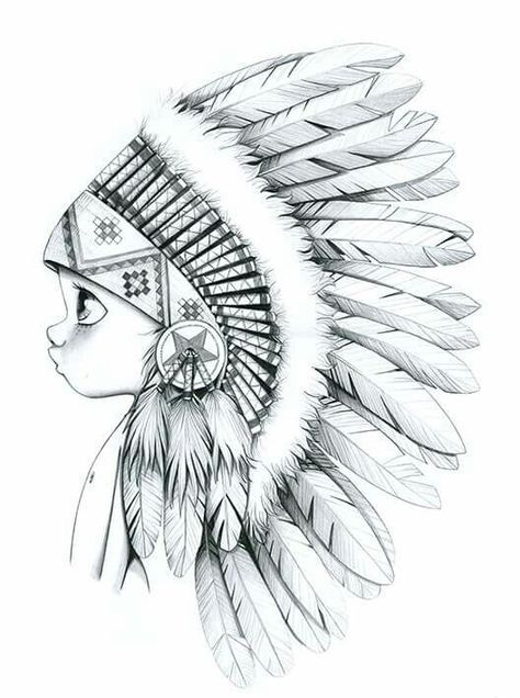 Big Chief drawings Pinterest Big, Drawings and Sketches