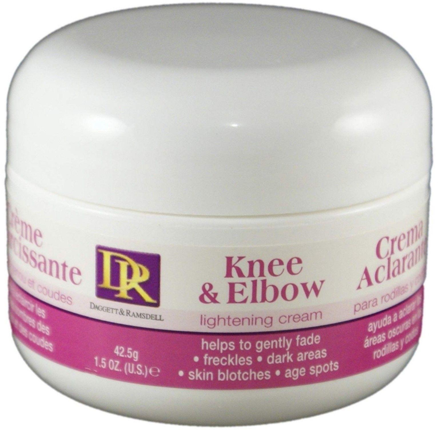 Dagget Ramsdell Knee Elbow Lightening Cream 1 5 Oz Walmart Com Lightening Creams Skin Blotches Lightening