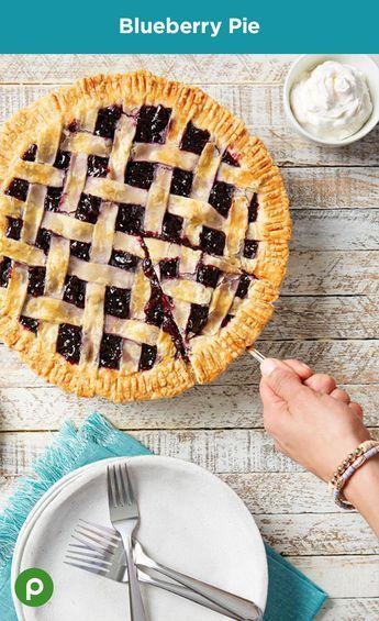 Blueberry Pie Recipe Dessert recipes, Blueberry