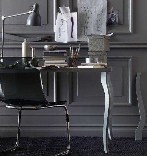 Ikea Tischfüsse geschwungene tischbeine lalle bei ikea wall colors office