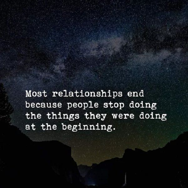 when do most relationships end