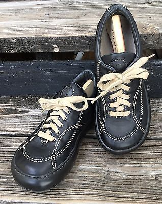 9e1049d8c4de CAMPER Ladies Street Shoes Oxfords Sneakers Black Leather Size 37 7 ...