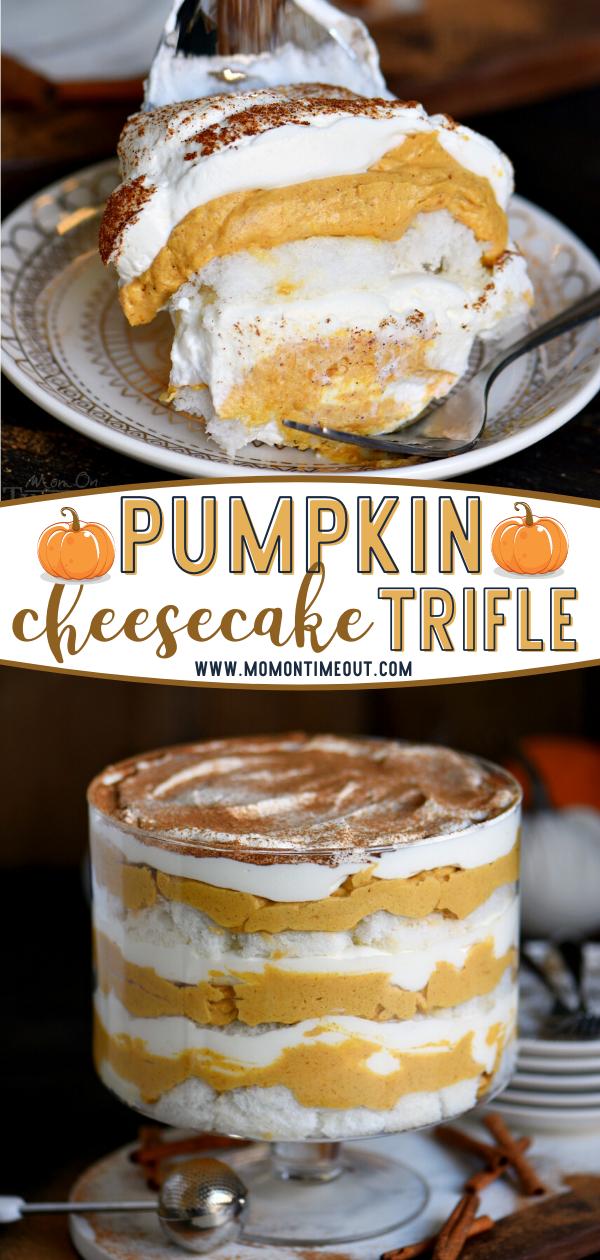 Pumpkin Cheesecake Trifle Recipe - Mom On Timeout