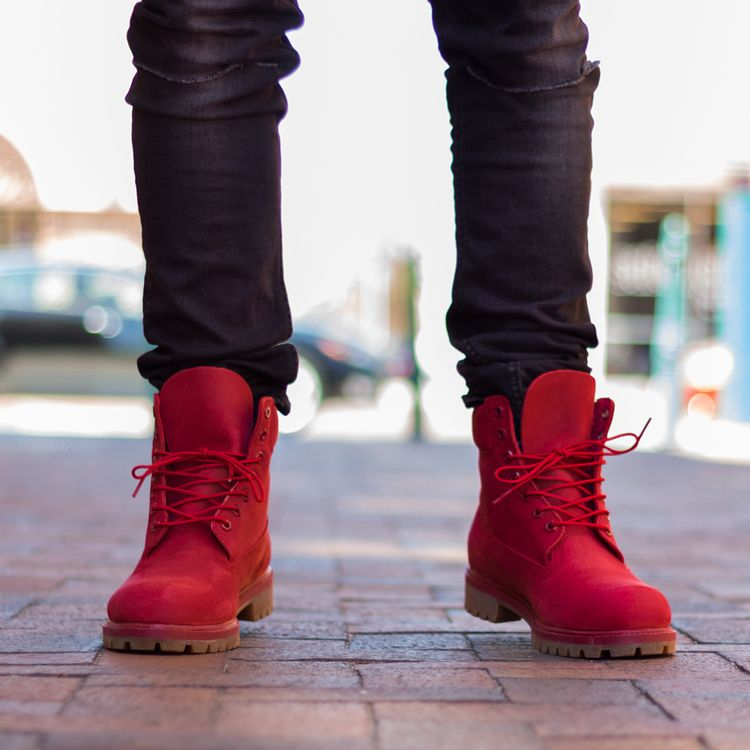 Timberland: Red Release | Timberland, The box and Red