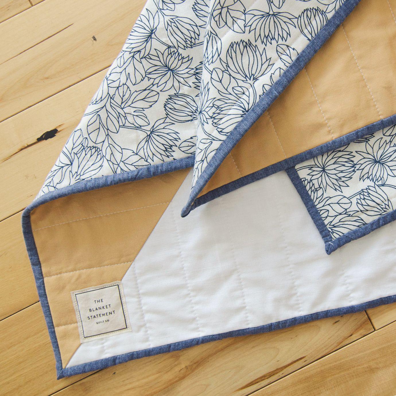 Modern quilt design by The Blanket Statement. #modernquiltingdesigns