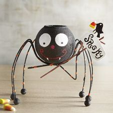 Spooky Spider Tealight Candle Holder
