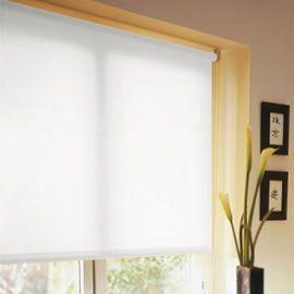 Store enrouleur tamisant blanc 60 x 160 cm | Rideau panneau stores ...