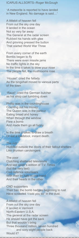 roger mcgough poems