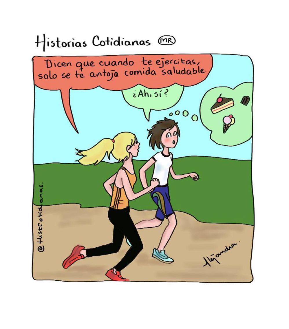 Dicen que cuando te ejercitas...  Twitter: @HistCotidianas