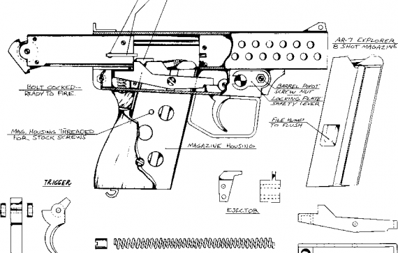 homemade gun plans homemade pistol information pinterest guns