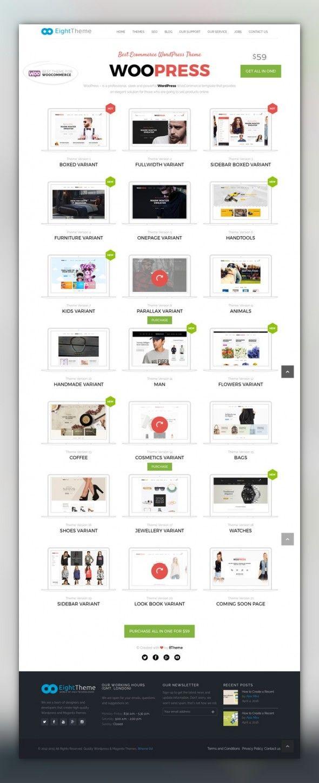 Woopress Responsive Ecommerce Wordpress Theme Blog Clean