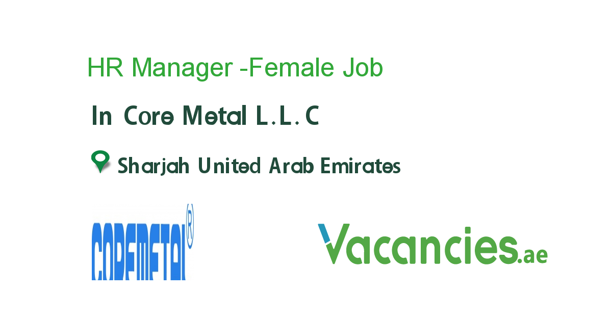HR Manager Female in 2020 Hr management, Training