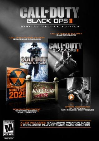 Call Of Duty Black Ops Ii Digital Deluxe Edition Download With