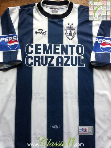 69d797dd4ee Relive Pachuca s 2001 2002 season with this vintage Recordi Team home  football shirt.