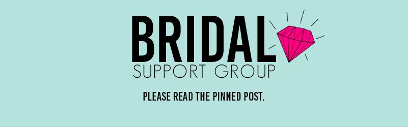 Come join over 13K brides in our PRIVATE Bridal Support Group on Facebook!