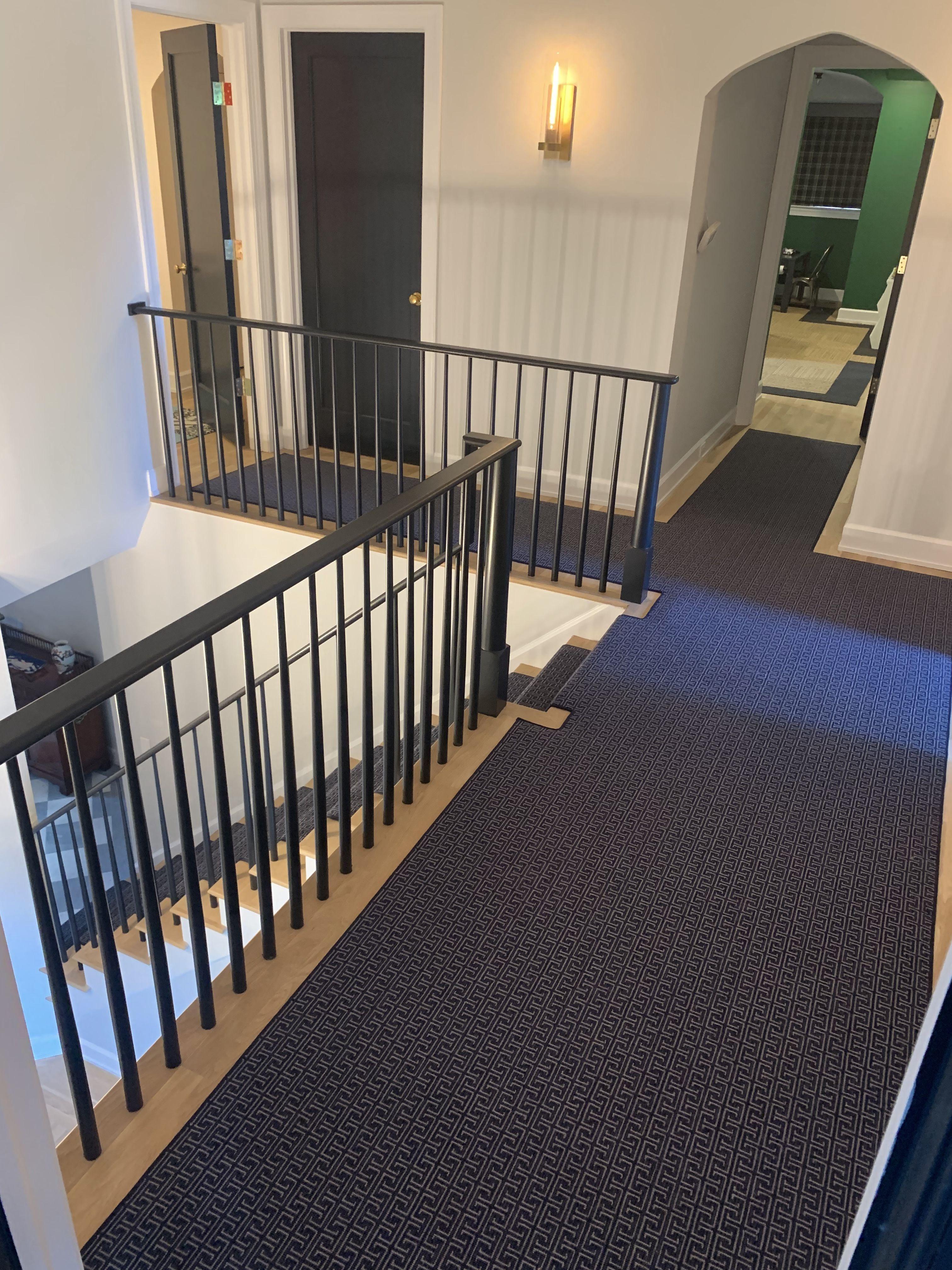 Custom Wool Runner On Steps And Hallways Featuring Stanton Carpet Stanton Carpet Vinyl Flooring Laminate Flooring