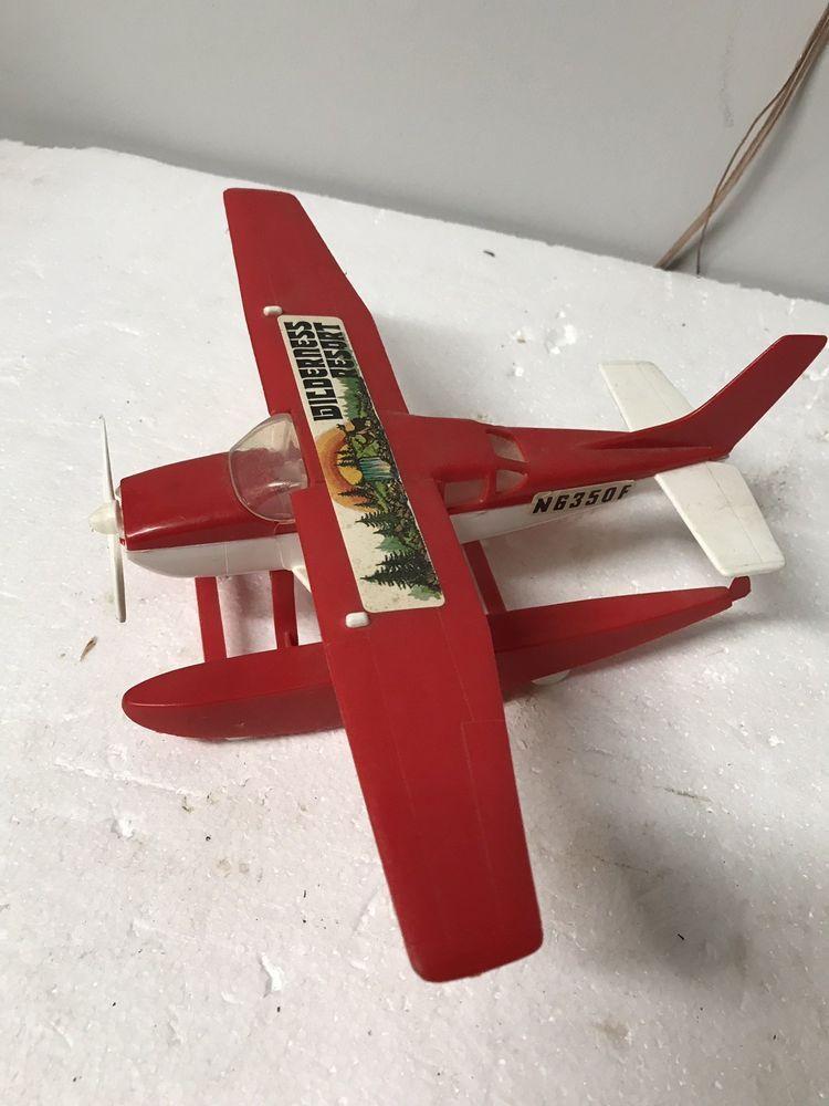 Vintage 1970S's Processed Plastics Cessna 172 Float plane